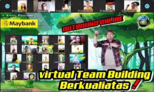 Virtual outbound team building online