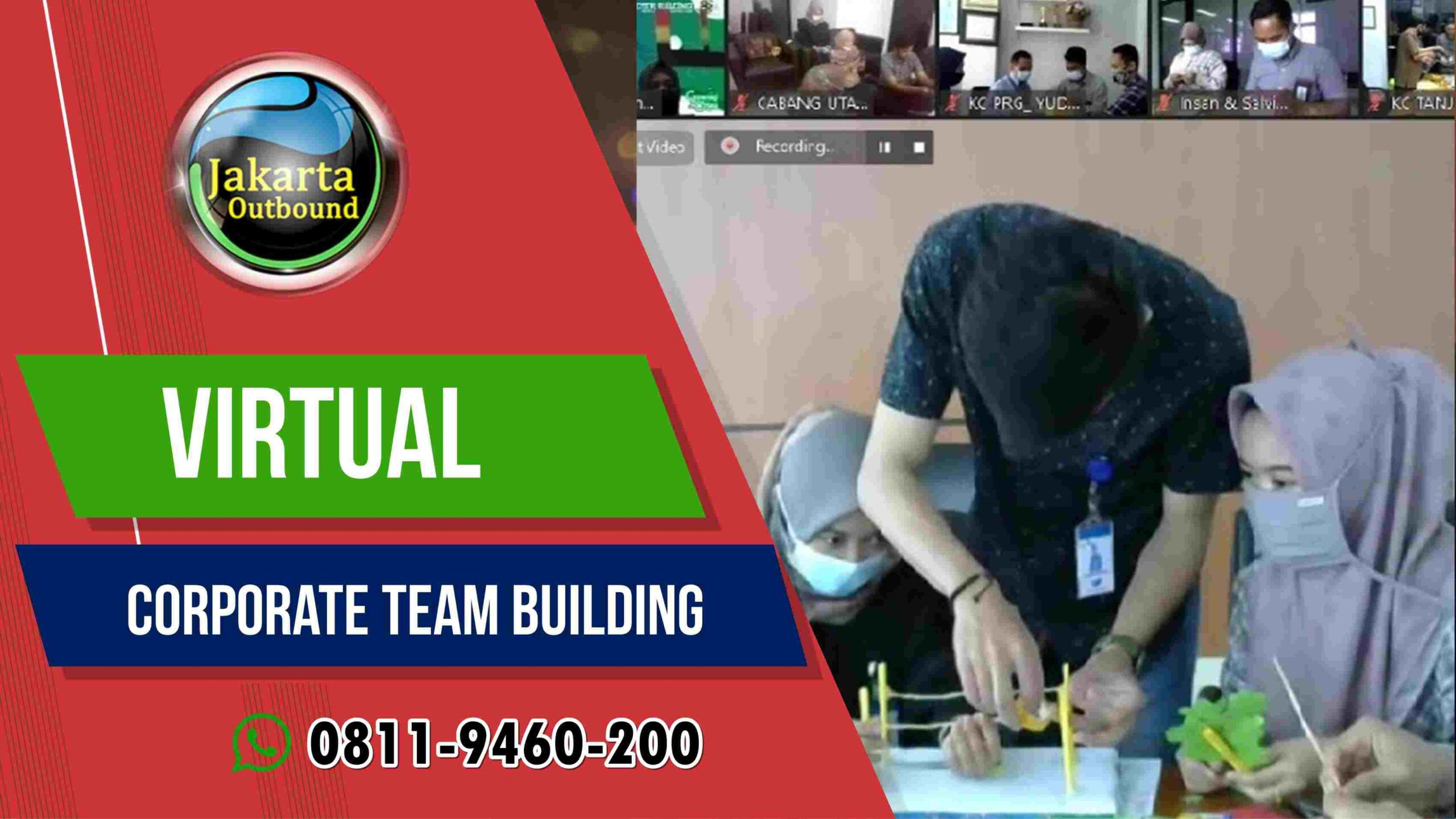 Virtual Outbound Team Bulding online Untuk Perusahaan di indonesia